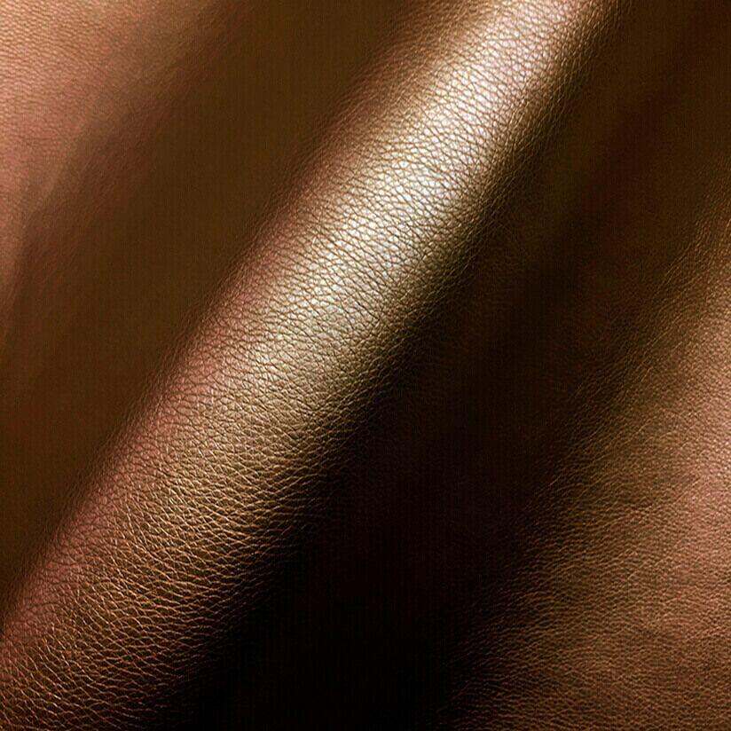Эко-кожа перламутр коричневый